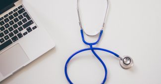 saúde: estetoscópio